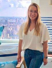 Painted Post native Susan Freitas landed her dream job in Manhattan.