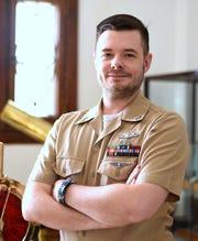 Elmira native Michael Dodge is a cryptologic technician with the U.S. Navy.