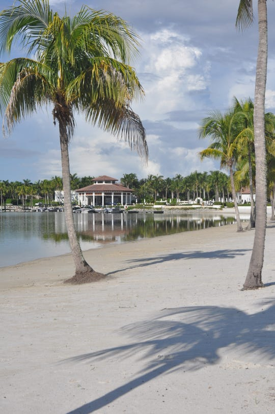 Beaches, boating, swimming and  water skiing are some of the amenities residents love at Miromar Lakes.