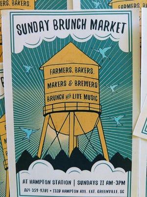 The Sunday Brunch Market at Hampton Station will run September through November.