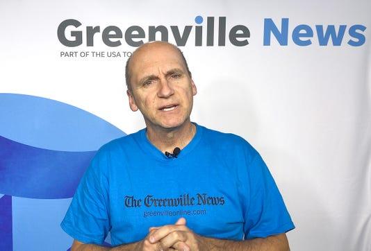 The Greenville News' Bob Castello