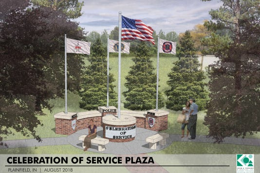 Rendering Plainfield Monument