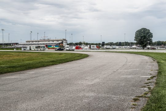 The street course at Lucas Oil Raceway in Brownsburg Ind. on Wednesday, Aug. 29, 2018. Big renovations will be coming to Lucas Oil Raceway after the NHRA received a $1 million grant from the state of Indiana through the Motorsports Improvement Fund.