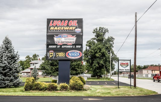 Big Renovations Coming To Lucas Oil Raceway After The Nhra Received A 1 Million Grant From The State Of Indiana Through The Motorsports Improvement Fund