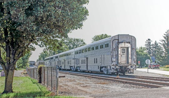 The Nickel Plate Express is a 12 mile, one-hour roundtrip excursion ride through Arcadia, Atlanta and Cicero.