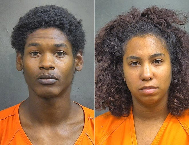 Mark Crudup, 23, and Rochelle Withers, 20.