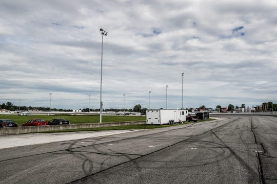 The oval track at Lucas Oil Raceway in Brownsburg Ind. on Wednesday, Aug. 29, 2018. Big renovations will be coming to Lucas Oil Raceway after the NHRA received a $1 million grant from the state of Indiana through the Motorsports Improvement Fund.