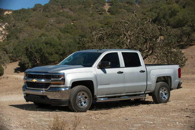 This undated photo provided by General Motors shows the 2018 Chevrolet Silverado, which is clearance-priced with discounts of more than $14,000, depending on style, in the Fort Lauderdale, Fla. area.