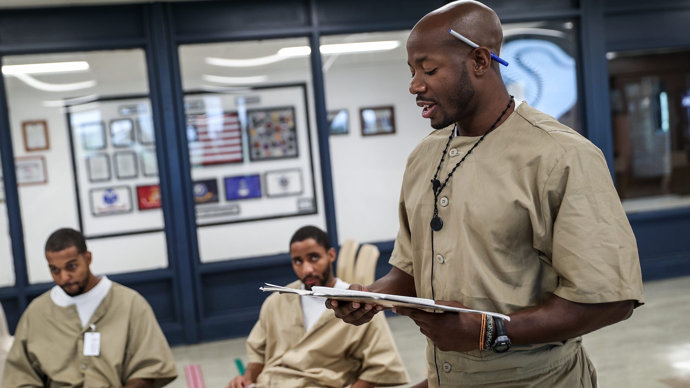 It's a way to escape — legally: Prison writing program therapeutic for Plainfield inmates