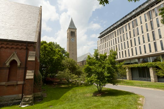 Cornell University said it will move to online classes in early April.