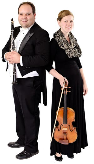 David and Laurielle Warren will perform with the Jackson Symphony on Sept. 8.