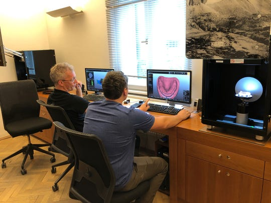 Knoxville dentist Steven Brock and his son Nate studied in Italy to learn about new tooth replacement options to create natural-looking smiles.