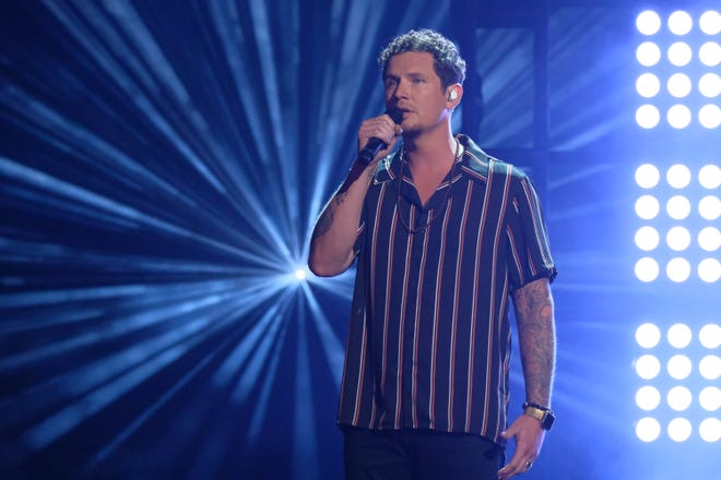 "Knoxville's Michael Ketterer performs on ""America's Got Talent."""