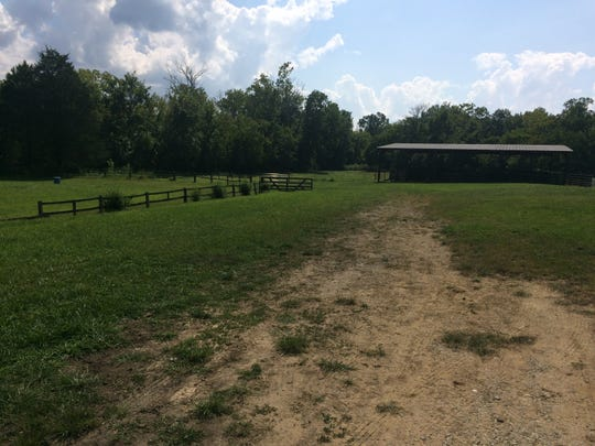Hooves and Feathers, located on the Western edge of Halls, has several grazing areas for horses and other animals.