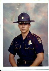Bud Torres, pictured during his time as a Louisiana State Trooper