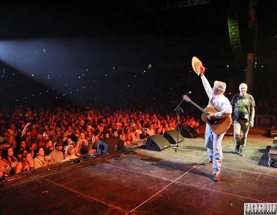 Bud Torres performs in New Orleans at the Bayou Country Superfest