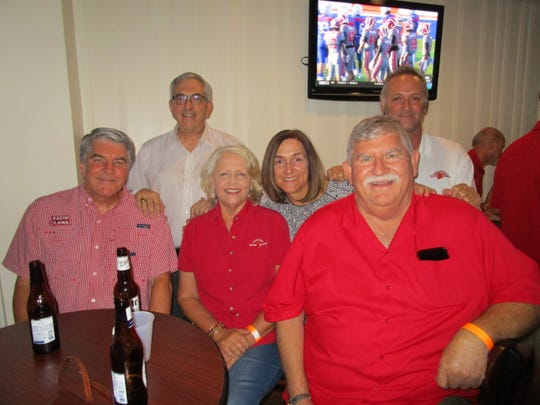 Gerald and Gail Abshire, Gary Wilkerson, Julia and Gene Lognion and JD Morein