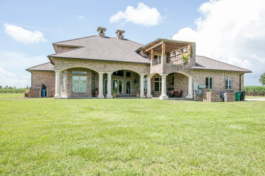 The beautiful estate includes acres of prime property in New Iberia.