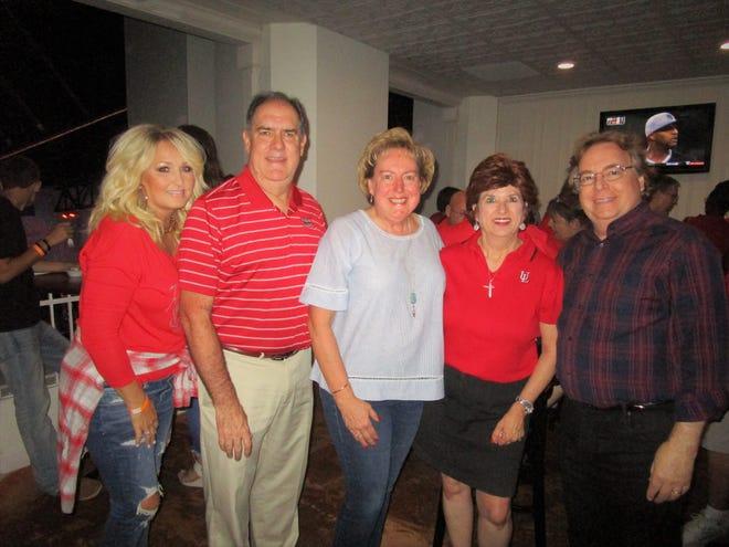 Jennifer Marlin, Tommy and Karren Hays, Carol Trosclair and Gary Lamson
