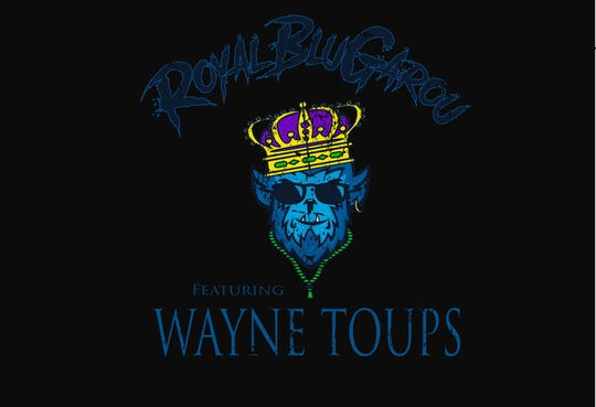 With a logo designed by Casey Toups, Royal BlueGarou specializes in acoustic versions of Wayne Toups' hit.