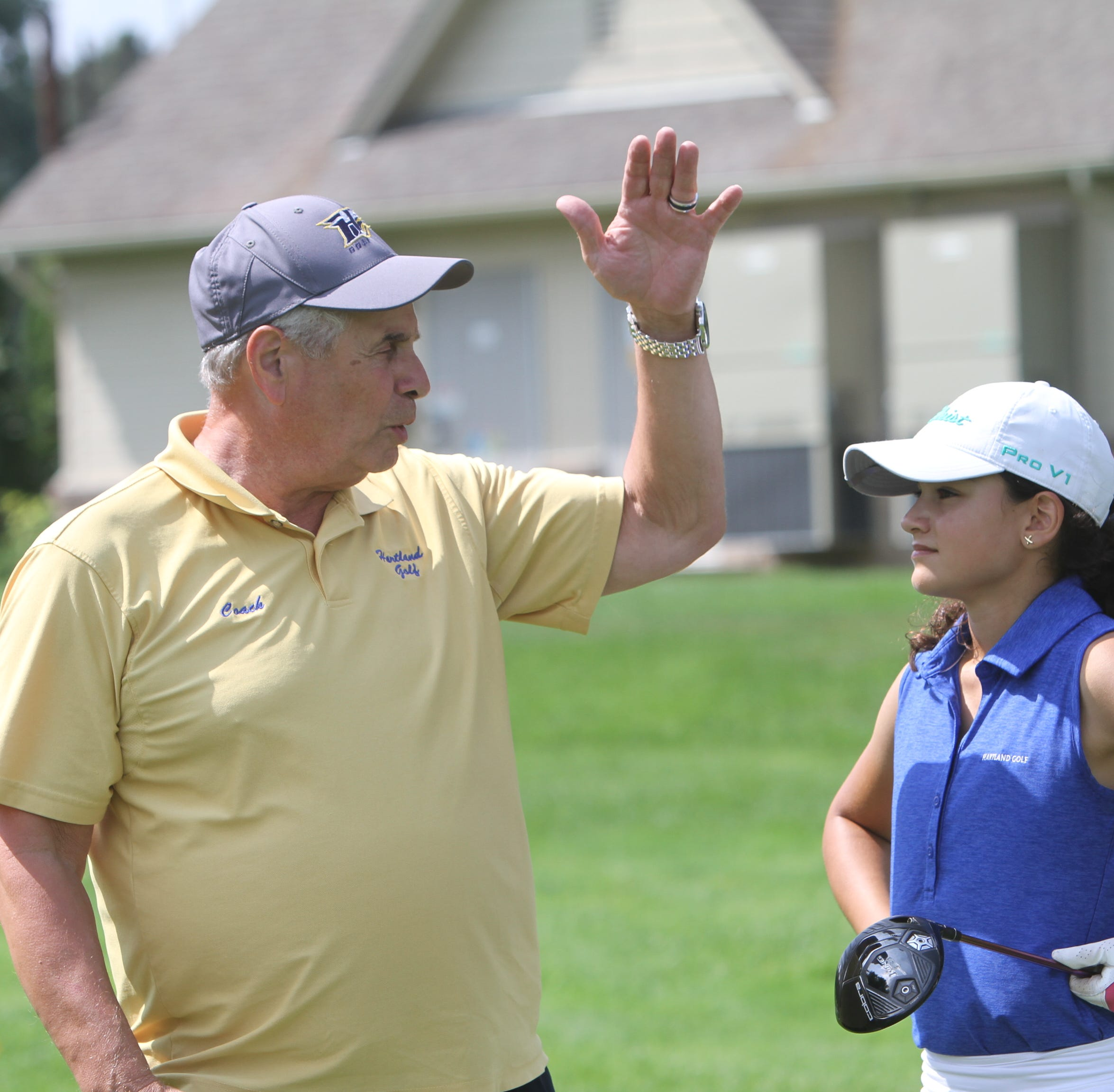 Reluctant Hartland golf coach Mike Joseph entering Hall of Fame