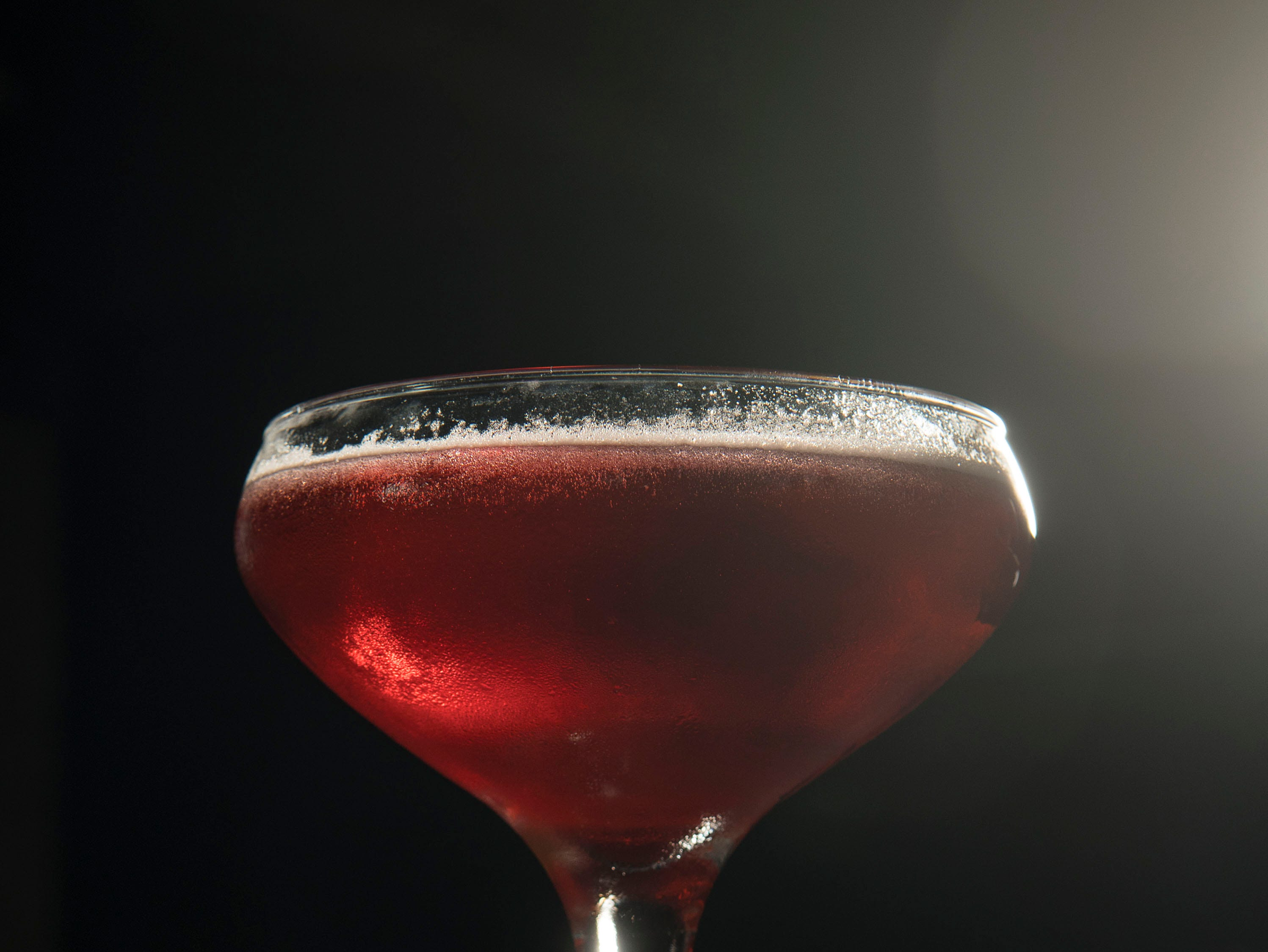 Italian Gentleman cocktail  at Sarino on Wednesday, August 29, 2018.