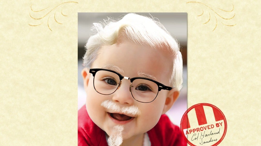 Kfc Could Give You 11 000 If You Name Your Baby Harland