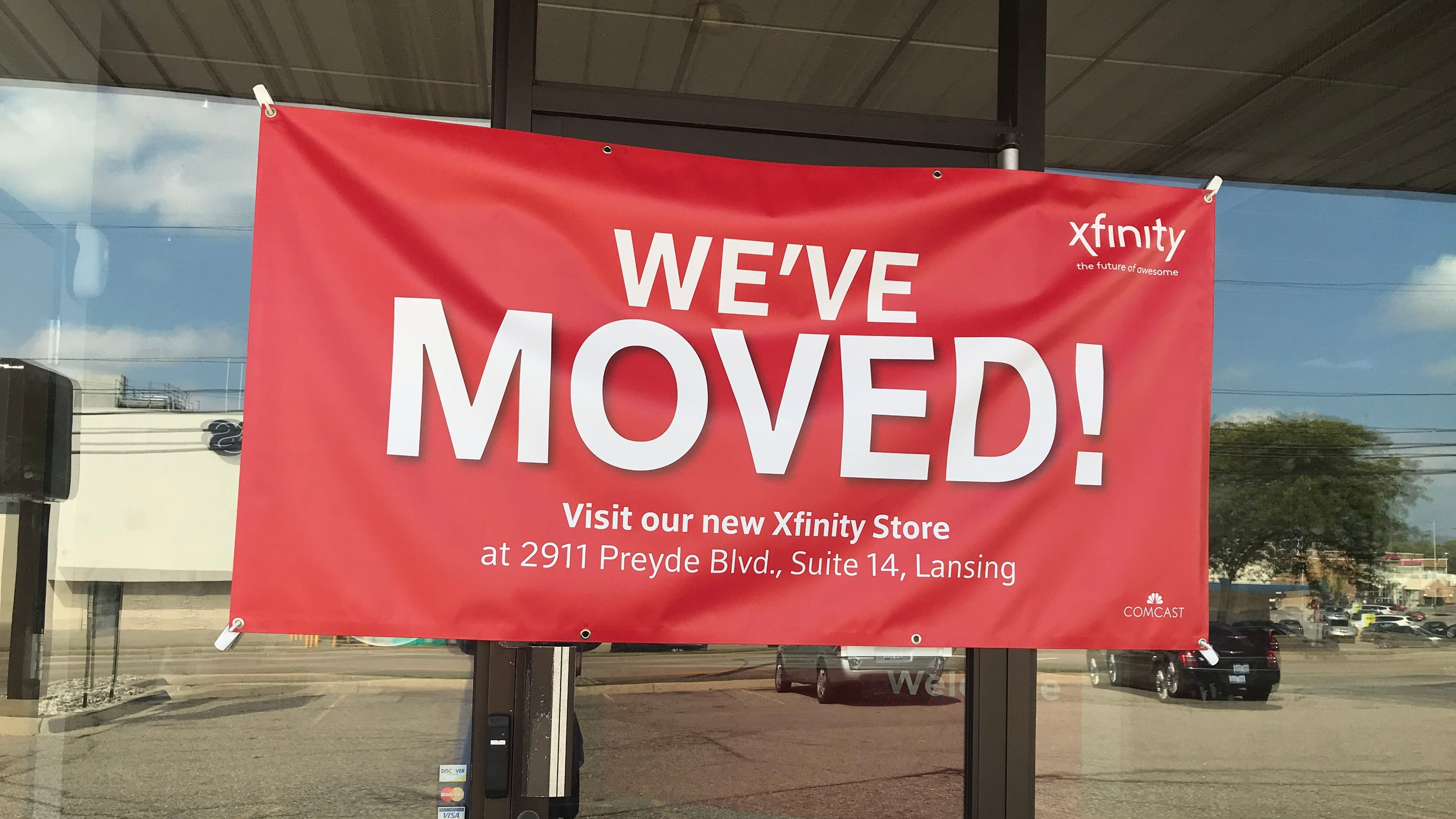 . Comcast soft launch of new Xfinity store at Eastwood a little too soft
