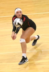 Crestview's Kenedi Goon is one of the top returning volleyball players in the area in 2019.