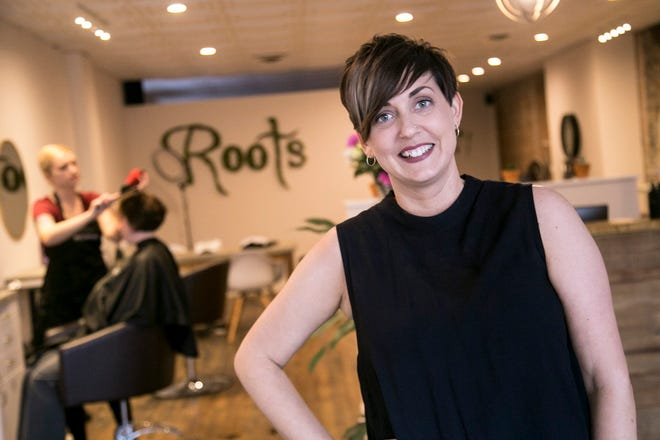 Janelle Blake is the owner of Roots hair salon. She has recently moved her business from Ontario to downtown Mansfield.