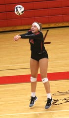 Crestview's Kenedi Goon earned honorable mention All-Ohio honors.