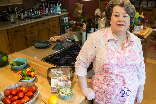 """Local author Perre Coleman Magness has written her third cookbook, 'Southern Snacks.' The book features 77 different recipes for """"small bites with big flavors."""""""