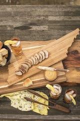 Sweet Tea-Brined Pork Tenderloin from new cookbook 'Southern Snacks.'