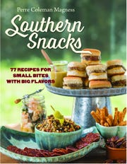 """Southern Snacks' is the third cookbook by local author Perre Coleman Magness."