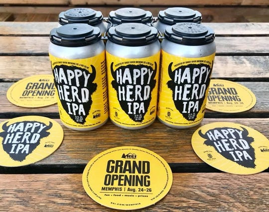 Ghost River and REI Co-Op partnered to create a new beer to celebrate REI's new store.