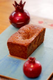 Honey Cake with Cherries is adapted from a traditional honey cake recipe.