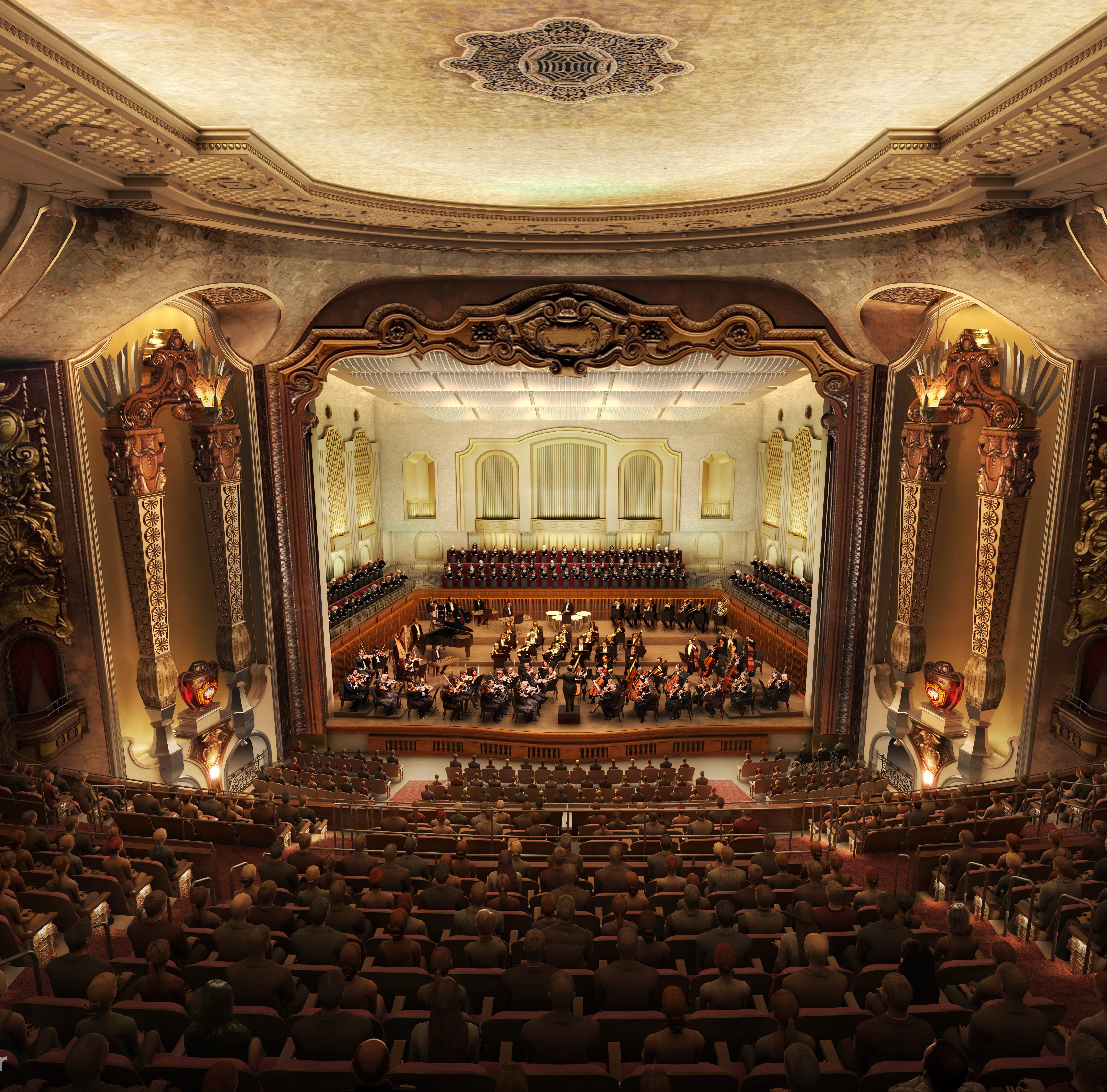 Milwaukee Symphony hopes to open its new concert hall for Democratic National Convention events