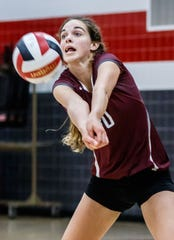 Menomonee Falls senior Ashley Guenveur is a returning first-team all-Greater Metro Conference selection.