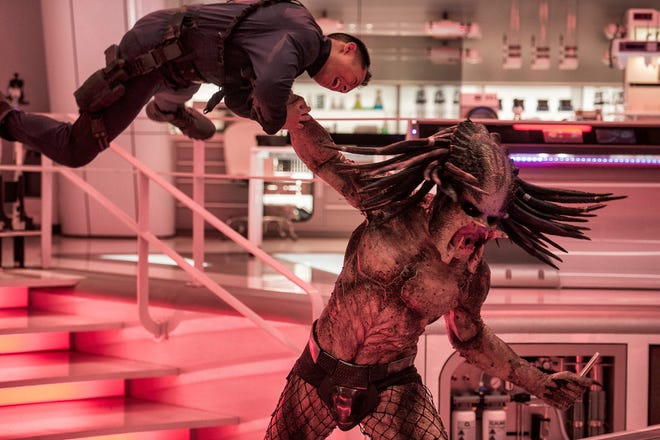 "The universe's toughest hunters return in ""The Predator."""