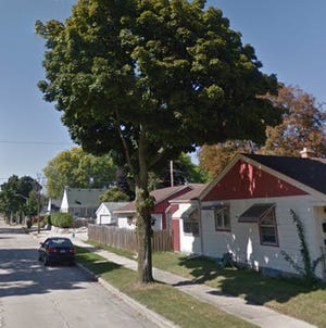 In the 6100 block of Arthur Avenue, a woman was shot at with a BB gun while standing outside her home.