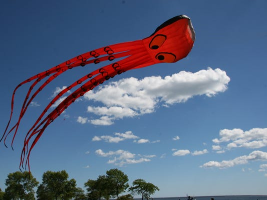 The giant octopus kite has been thrilling kite festival-goers for years.