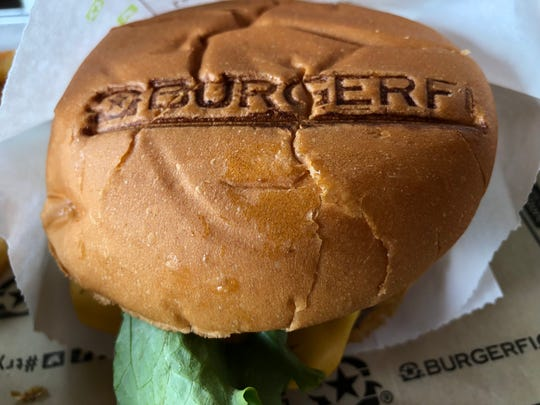 BurgerFi actually brands their buns with the company logo, in case you forgot where you were eating.