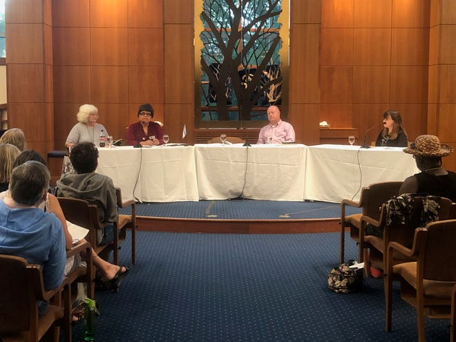 A panel on supporting transgender youth was held Tuesday, Aug. 28, 2018 at The Temple.