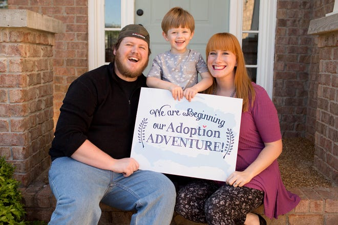 Cory, Cooper and Sarah Jones of Spring Hill are adopting a child or sibling pair from Haiti.