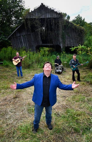 Shenandoah's Marty Raybon was on top of the world in the '90s with a country group that was scoring hits. But alcoholism threatened to take it away. He recovered, his band reunited and now he counsels alcoholics and those in recovery.  Tuesday Aug. 21, 2018, in Nashville, Tenn.