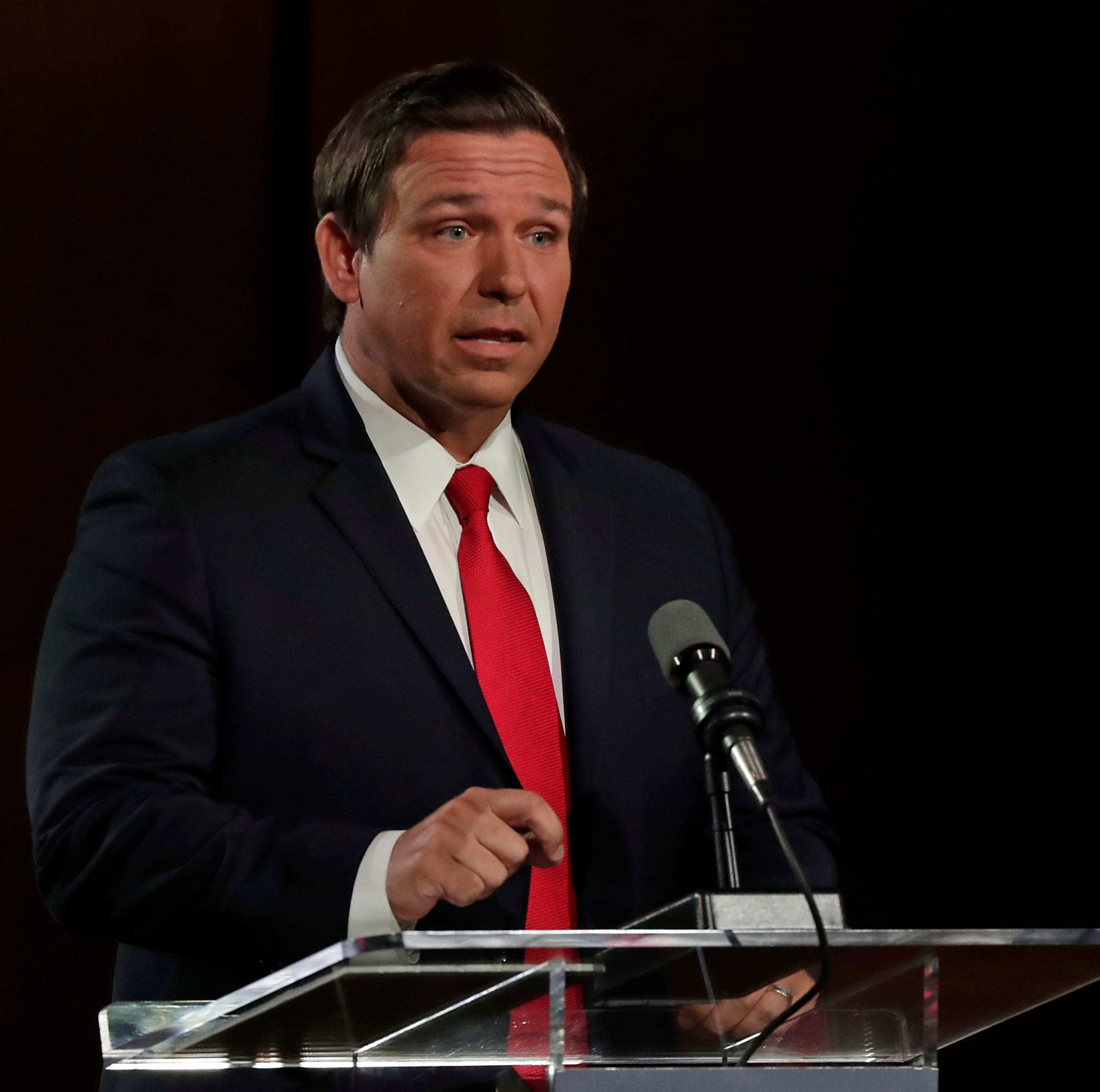 GOP's Ron DeSantis spoke to group whose founder says devout Muslims can't be loyal Americans