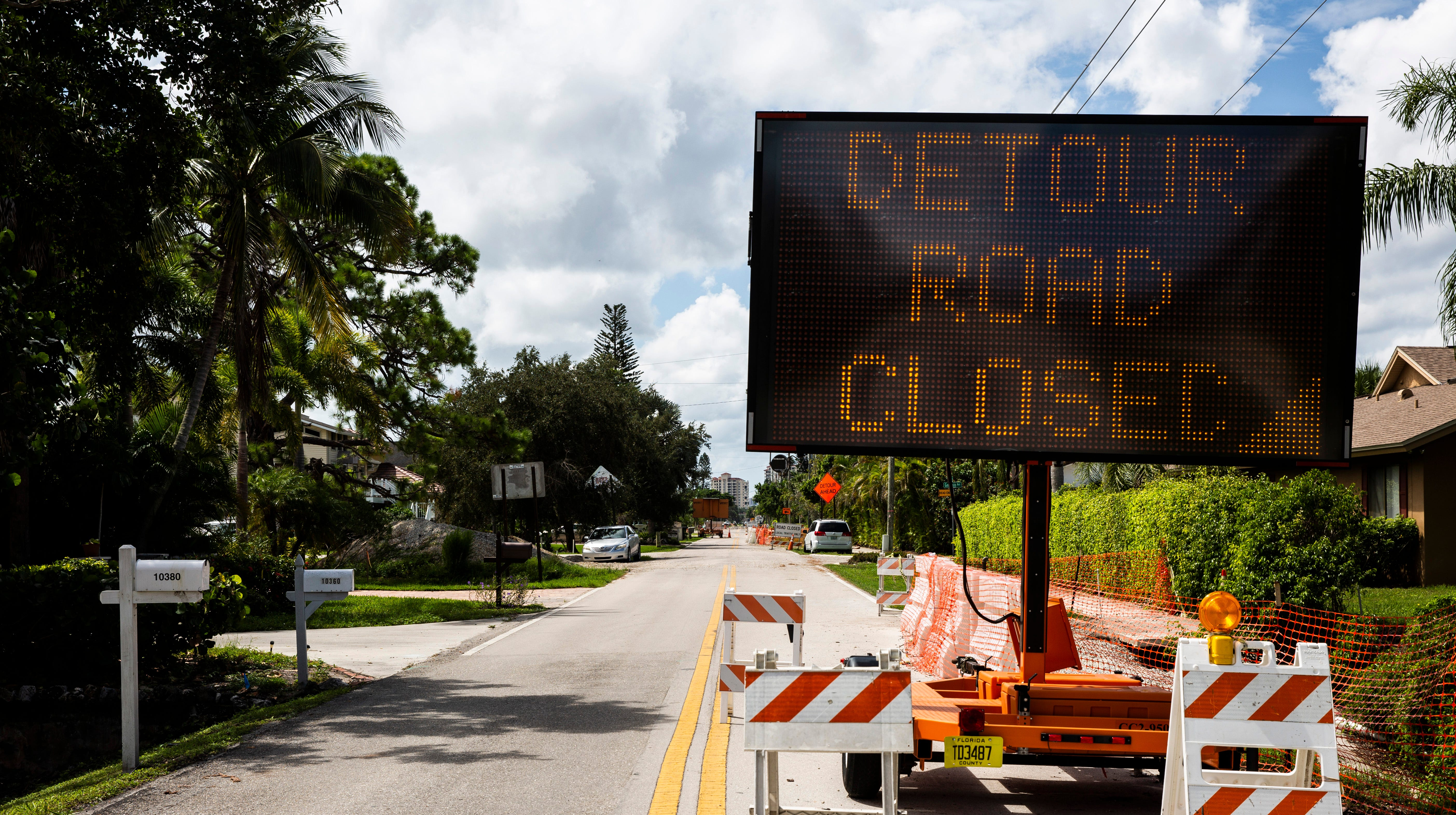 Vanderbilt Drive utilities work in North Naples delayed further until September 2019