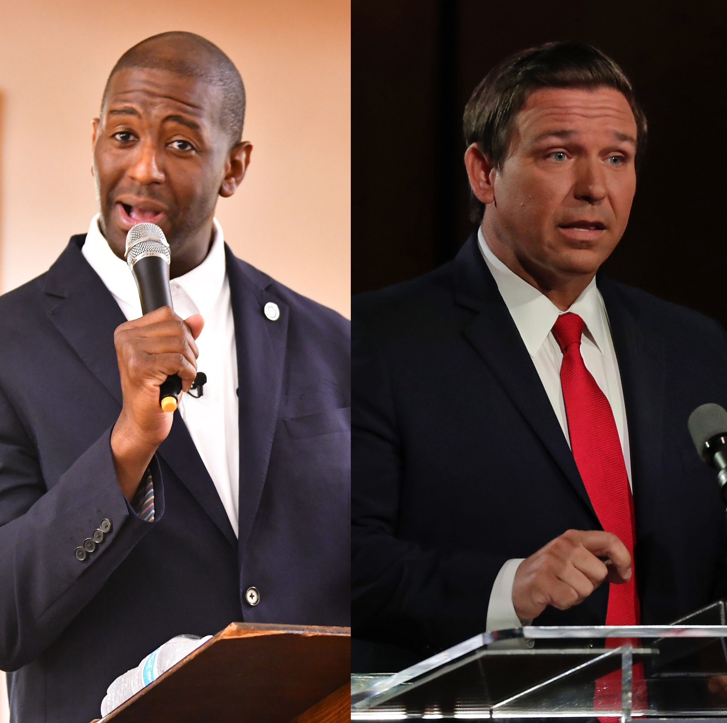 GOP's Ron DeSantis and Democrat Andrew Gillum clash during televised Florida governor debate