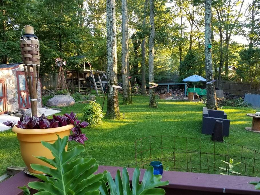 Go 'glamping' in West Milford in this backyard rental capable of hosting 	4 guests in 2 bedrooms and 1 bath. Cost: $93/night