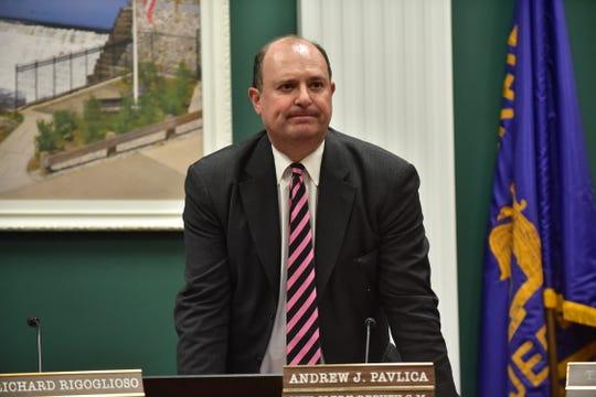 Andrew J. Pavlica, Garfield City Clerk on Tuesday, August 28.